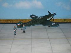 Messerschmitt Bf-109 E-3A in yugoslav service (modelldoc) Tags: messerschmitt bf109 plastic kit yugoslavia aircraft