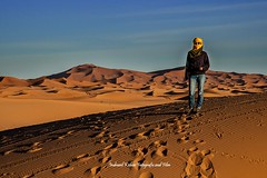 In to the Sahara, Merzouga, Morocco, Africa (indranilkishor) Tags: 31°5′57″n4°0′42″w africa algerianborder beautifulmorocco berber bestimagesofmorocco camel camelride camelsafari cameltrek dry drâatafilalet errachidia exotic foothillsoftheatlasmountains heavneonearth indranilkishor indranilkishorfotografieandfilm landscapes lonelyplanet merzouga moroccandesert morocco moroccotourism muslim nature nomadiklife northafrica saharadesertmorocco sand sanddunes shipofdesert southeasternmorocco subsaharanafrica sunny thegreatdesert tourism touristicplace مرزوقه