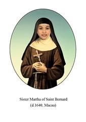 martha of st. bernard.v1 (Saints and Blesseds) Tags: marta de san bernardo macau poor clare nun sister clares philippines filipina servant god venerable blessed saints saint catholic church beata venerabile