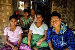 A Beautiful Burmese Family (El-Branden Brazil) Tags: myanmar burma burmese family southeastasia asian asia