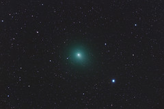 Comet Wirtanen on Jan 5, 2019, 06:31 UT (Star-Freeze version) (CajunAstro) Tags: 46p 46pwirtanen comet astrophography televue tv85 night sky stars space telescope
