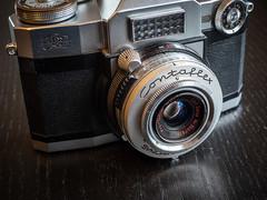 20190105-0046 (www.cjo.info) Tags: 35mm carlzeissprotessarm11 contaflex contaflexsuper slr zeissikon classiccamera oldcamera vintagecamera