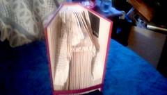 Lighthouse book sculpture ! (Maenette1) Tags: lighthouse book sculpture granddaughter artmajor yorkcollegenebraska menominee uppermichigan flicker365 allthingsmichigan absolutemichigan projectmichigan