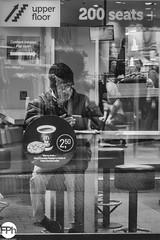 At McDonalds (Frankhuizen Photography) Tags: mcdonalds kalverstraat amsterdam netherlands 2019 street man reflection black white candid photography poertait lonely monochrome window straat reflectie zwart wit spontaan fotografie eenzaam venster rue homme réflexion noir blanc candide laphotographie solitaire lafenêtre strase mann reflexion schwarz weis offen einsam einfarbig fenster