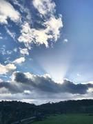 Winter's Day (purplemagic1987) Tags: rays beams cloud sun light