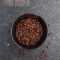 Coffee beans (annick vanderschelden) Tags: coffee bean coffeebeans brewer flavour roasted intense solid fiery espresso refined aroma taste colour seed pit caffeine beverage alkaloid proteins carbohydrates endosperm arabica belgium