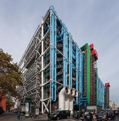 Centre Pompidou II (Jack Landau) Tags: centre pompidou architecture postmodern structure building renzo piano richard rogers paris france europe eu canon 5d jack landau