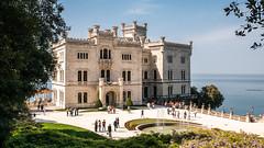 Castello di Miramare Colore (Busy deleting images) Tags: castello schloss palace italy castellodimiramare architecture