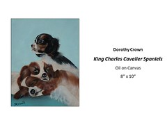 "King Charles Cavalier Spaniels • <a style=""font-size:0.8em;"" href=""https://www.flickr.com/photos/124378531@N04/46790295391/"" target=""_blank"">View on Flickr</a>"