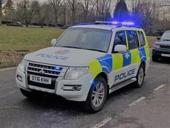 OY16KHH (HkEmergencyPhotography) Tags: cnc civil nuclear constabulary police armed uk blue lights siren 999 911 emergency vehicles servcies arv mitsubishi shogun england