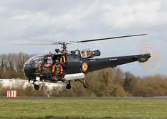 M-3 Sud Aviation SA-316B Alouette 111 Belgium Air Force (Keith B Pics) Tags: m03 belgiumairforce baf alouette no40squadron sa316 aerospatiale sudaviation keithbpics londonsouthendairport southend sen egmc koksijde