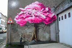France - Brest - Crimes of Minds - PakOne (andrei.leontev) Tags: france frankreich bretagne brittany finistere finistère streetart crimesofminds pakone graffiti brest