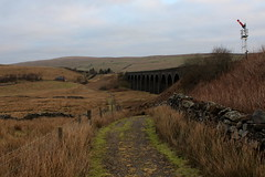 Dandrymire Viaduct (Walruscharmer) Tags: railwaysignal settlecarlislerailway viaduct nationaltrail penninebridleway yorkshiredales nationalpark cumbria england