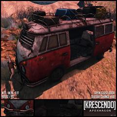 [Kres] Apoxwagon ([krescendo]) Tags: apocalypse van wagon secondlife sl kres krescendo eclipse