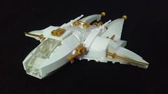 War Angel (LegoHobbitFan) Tags: lego moc build model creation space jam contest competion spaceship ship white gold