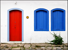 photo1 - Colorful Paraty Doors & Windows (Jassy-50) Tags: photo paraty brazil door window colorful redwhiteblue reddoor
