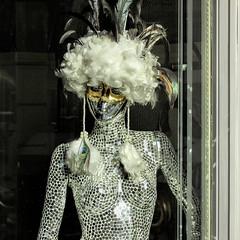 Mirror-art Mannequin (dckellyphoto) Tags: barcelona 2015 spain mannequin mirror catalonia shop window