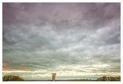 De schouw (marc.demeuleneire) Tags: chimney clouds trees colour