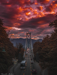 Apple Cinnamon (Endless Reflection Photography) Tags: vancouver vancouverbc britishcolumbia lionsgatebridge vancouversunset vancity sunset lionsgatebridgesunrise vancouversunrise canon seattlephotographer endlessreflectionphotography ereflectionphotos moody moodyphotography moodygrams agameoftones heatercentral citykillers streetmeetwa applecinnamon autumn vancouverfall visitvancouver explore exploreeverything exploretocreate
