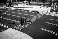 Montreal monochrome (vinnie saxon) Tags: old port montreal monochrome bw people pov fujifilm x100s street