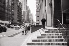 Stair Man (Eddie K. Photo) Tags: new york city manhattan street photograpy