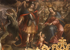 Judgement (Lawrence OP) Tags: michael saints lastjudgement stmichael archangel blessedvirginmary scales justice souls heaven angels tenerife sancristobal lalaguna