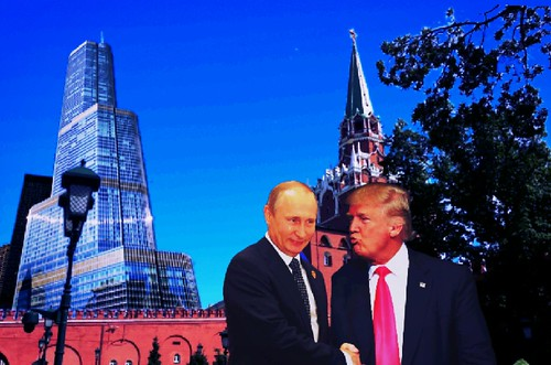 Trump Gets His Tower In Moscow, and Putin gets his 50 million dollar penthouse.  But that's not bribery, is it?  And Putin would not have had anything on Trump if the project had gone through, would  he?