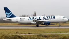 Airbus A320-214 F-HBIB Aigle Azur (William Musculus) Tags: airport spotting plane airplane aviation basel mulhouse freiburg bsl mlh eap euroairport lfsb aeroport fhbib aigle azur airbus a320214 aaf zi a320200