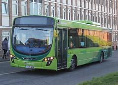 Stagecoach East Cambus . 21226 AE09GYW . Bury St Edmonds Bus Station , Suffolk . Wednesday 12th-December-2018 . (AndrewHA's) Tags: suffolk burystedmunds bus stagecoach east cambus volvo b7rle wright wrightbus eclipse urban ae09gyw green cambridge haverhill