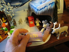 Friday, 21st, 2018, I'd better sort out Mary and Joseph for the stable IMG_0918 (tomylees) Tags: essex morning winter december 2018 21st friday carol reindeer adventcalendar christmas playmobil