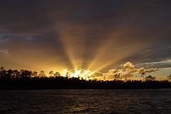 ...starburst (Jim Atkins Sr) Tags: sunset northcarolina northwestcreek fairfieldharbour spectacularsunsetsandsunrises sony sonya58 sonyphotographing sky cloudscape cloudsstormssunsetssunrises clouds