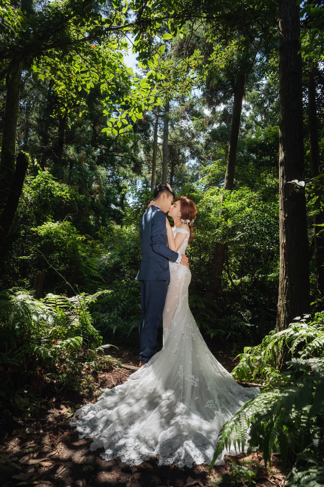 台灣婚紗 台北婚紗 黑森林 南雅奇岩 藝術婚紗