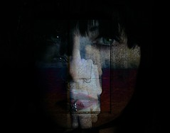 The Eyes Have It (Bill Eiffert) Tags: abstract eyes woman experiment overlays