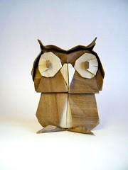 Búho - Fernando Castellanos (Rui.Roda) Tags: origami papiroflexia papierfalten owl eule mocho coruja gufo hibou chouette búho fernando castellanos
