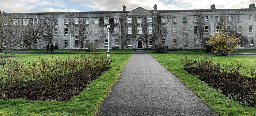 TODAY I VISITED ST. PATRICK'S COLLEGE IN MAYNOOTH [THE NATIONAL SEMINARY OF IRELAND]-147772