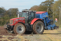 Massey Ferguson 6495 Dyna 6 Tractor with a Lemken Solitair 8 Seed Drill & Power Harrow (Shane Casey CK25) Tags: massey ferguson 6495 dyna 6 tractor lemken solitair 8 seed drill power harrow mf red agco carrigtohill traktor traktori tracteur trekker trator ciągnik sow sowing set setting drilling tillage till tilling plant planting crop crops cereal cereals county cork ireland irish farm farmer farming agri agriculture contractor field ground soil dirt earth dust work working horse horsepower hp pull pulling machine machinery grow growing nikon d7200