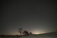 City glow and Orion (pasiak75) Tags: 17files 2019 dolnyśląsk orion sequator iso640010sek krajobraz landscape sky sonya7s stacked stars