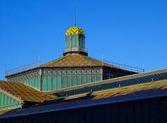 Modernist market (chrisk8800) Tags: architecture building roof modernism market museum barcelona
