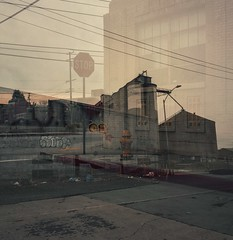 Half stop (ADMurr) Tags: la eastside double exposure zeiss planar overcast dba288 hasselblad 500 cm 80mm fuji 400 6x6 square