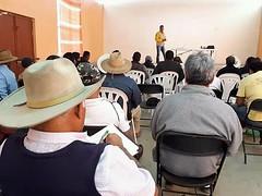 La Coordinación de Protección Civil de Tlaxiaco con @CONAFOR realizó la capacitación en materia de Prevención de Incendios Forestales participando agentes municipales y corporaciones de seguridad