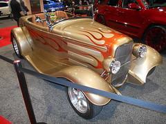 1932 Ford Roadster (splattergraphics) Tags: 1932 ford roadster hotrod customcar flames carshow dubshow philadelphiaautoshow pennsylvaniaconventioncenter philadelphiapa