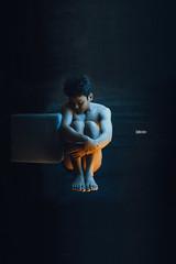Th solitude 1 (Wood Oliver) Tags: digital canon 600d 1855mm3556 indoor studio lighting body hand