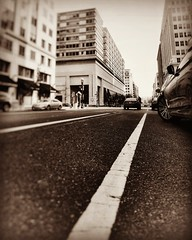 The #road we #travel (LAKAN346) Tags: road travel pov streetstyle bokeh desaturated monochrome