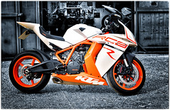 RC8 (Harleycy3) Tags: rc8 orange motorcycles bikes colourpop ktm