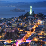 Coit Tower and Alcatraz thumbnail