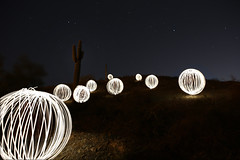 ORB MOUNTAIN (danielkelly19) Tags: orbs orb cactus mountain photography nightphotography light motion night