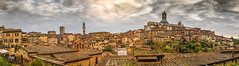 Siena, Italy (James Mc2) Tags: siena italy tuscany town panorama cityscape sunset historic clouds dramatic