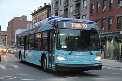 IMG_2773 (GojiMet86) Tags: mta nyc new york city bus buses 2018 xd40 7670 subway shuttle bushwick avenue meserole street