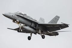 F-18 Ala 15 (Ejército del Aire Ministerio de Defensa España) Tags: aviación aviation militar military fuerzaaérea ejércitodelaire airforce f18 hornet vuelo flight avión fighter caza ala15
