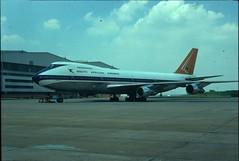 35mm slide image (San Diego Air & Space Museum Archives) Tags: southafricanairways saa suidafrikaanselugdiens sal aviation aircraft airplane airlines airliners boeing boeing747 747 b747 b742 b742b boeing747200 747200 boeing747200b 747200b 747classic prattwhitney prattwhitneyjt9d jt9d jumbojet